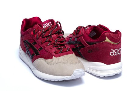 ASICS Buty Gel Saga Burgundy/Dark Brown