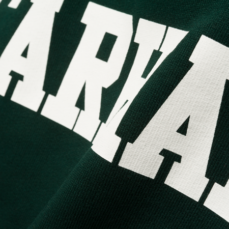 CARHARTT Bluza College Sweatshirt Parsley/White - FW17