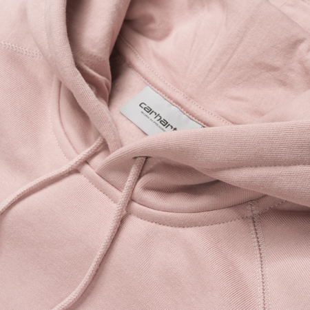 Carhartt Bluza Hooded Chase Sweatshirt Soft Rose/Gold - SS18