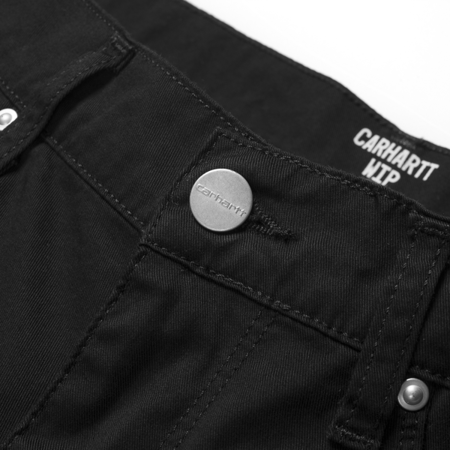 Carhartt Swell Short Black Rinsed - SS18