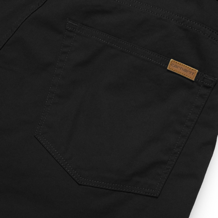 Carhartt Szorty Swell Short Black Rinsed - SS18
