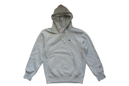 Champion Bluza Reverse Weave Small Logo Hooded Sweatshirt Grey Heather - FW18