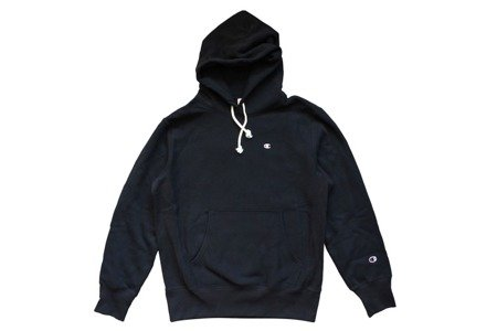 Champion Bluza Reverse Weave Small Logo Hooded Sweatshirt Navy - FW18