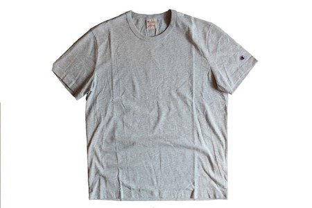 Champion Koszulka Reverse Weave Small Logo T-Shirt Grey Heather - SS18