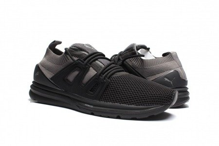 PUMA Buty B.O.G. Limitless Lo evoKNIT Black Quiet/Shade Black