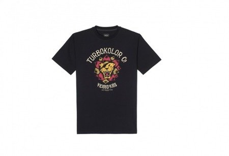 TURBOKOLOR Lotos Front T-Shirt Black - FW17