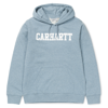 Carhartt Bluza Hooded College Sweatshirt Dusty Blue Heather/White - SS18